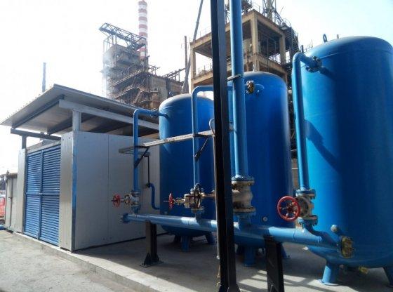 Impianto aria compressa pulizia forno